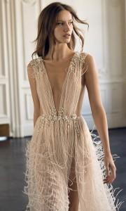 Eisen Stein Isabelle deep v neck wedding dress 2018