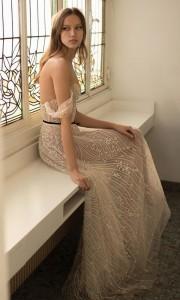 Eisen Stein Valentina off the shoulder beaded wedding dress 2018 collection