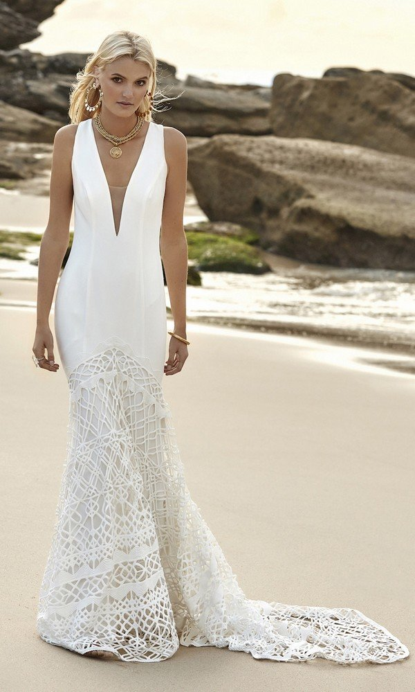 Gigi Galaxy Rue De Seine lace wedding dress 2