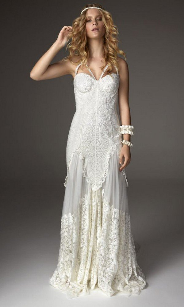 boho beach wedding dresses Arrow from Rue De Seine