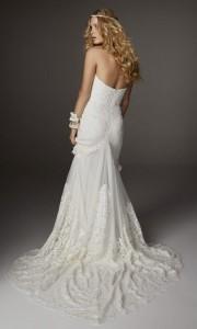 boho beach wedding dresses back Arrow from Rue De Seine