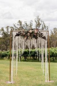 boho wedding arches for outdoor wedding