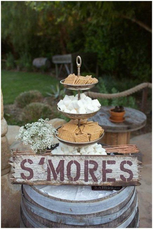 outdoor wedding food station ideas - Oh Best Day Ever