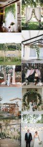 trending wedding photo booth backdrop ideas