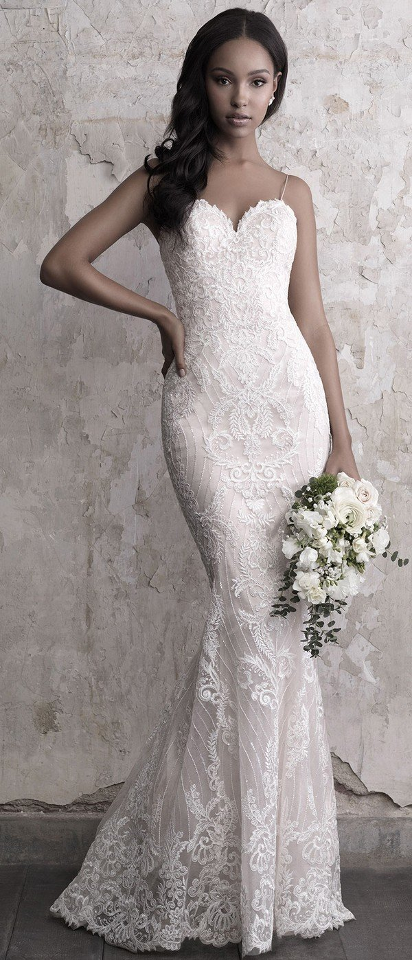 Madison James beaded sweat heart wedding dress 2018 fall collection