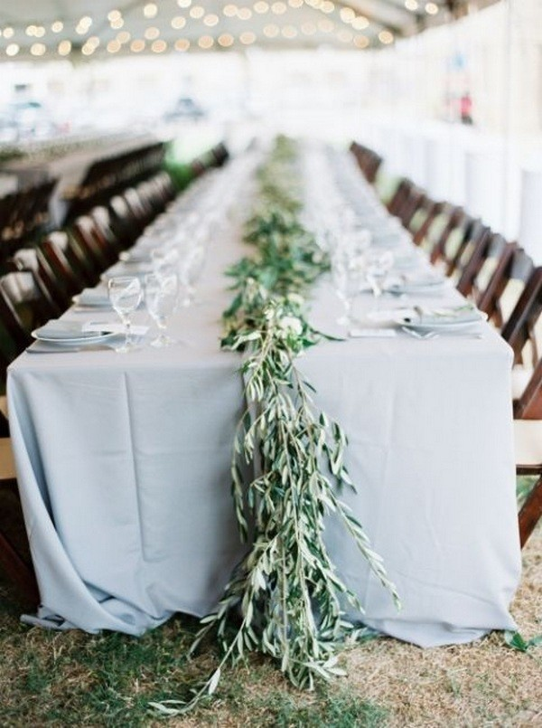 Trending 18 Elegant Olive Branch Wedding Centerpieces