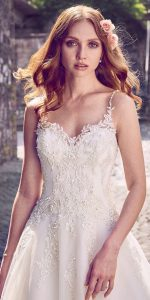 Maggie Sottero princess wedding gown