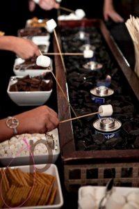 S'mores Bar wedding reception ideas