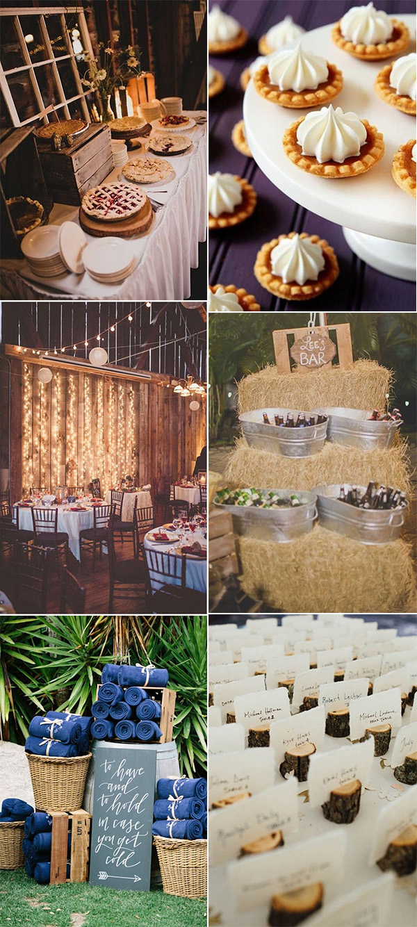 fall wedding ideas for 2018 and 2019