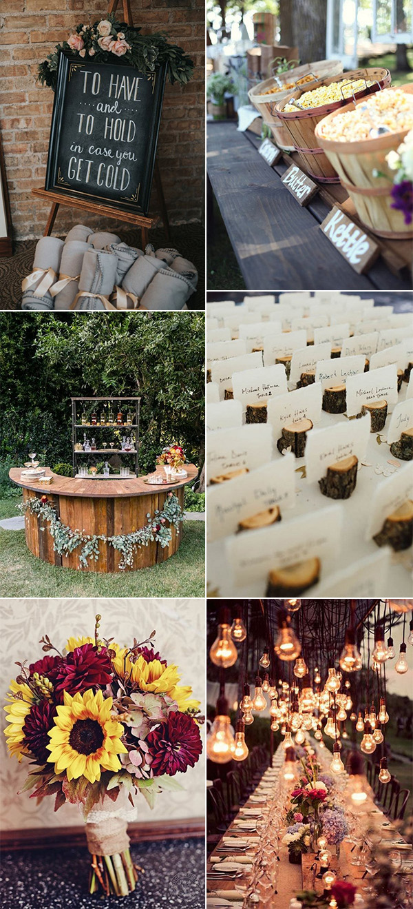 trending fall wedding ideas