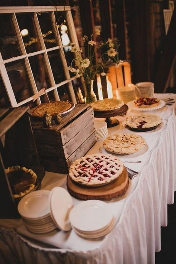 wedding food bar ideas for fall
