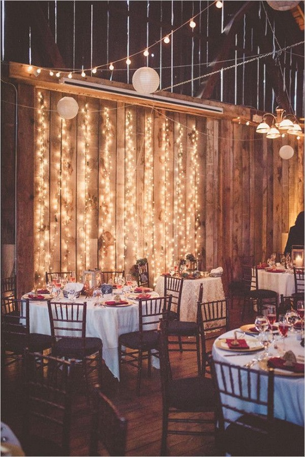 wedding reception lighting ideas for fall