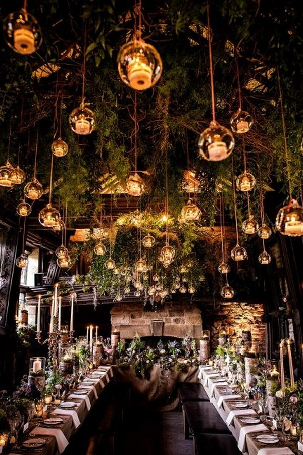 woodland wedding reception ideas