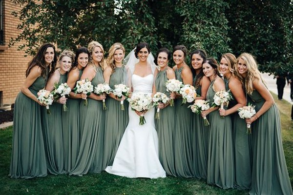 green bridesmaid dresses for 2019