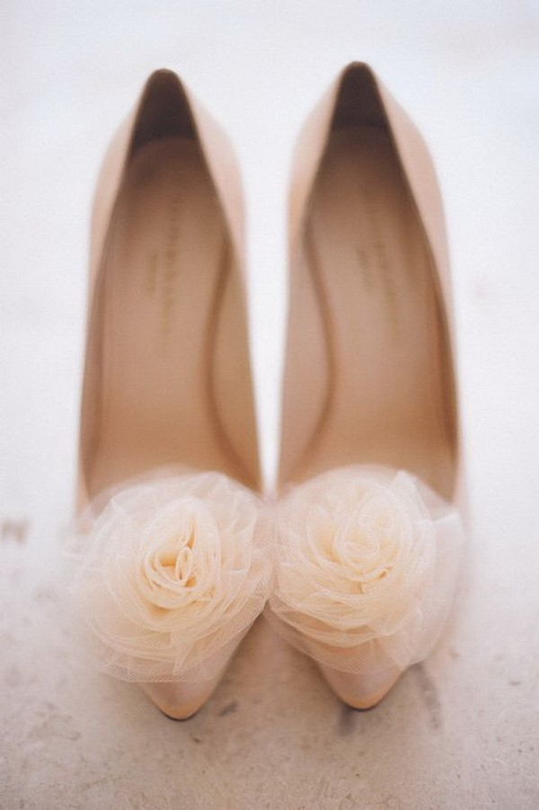 pink blush wedding shoes
