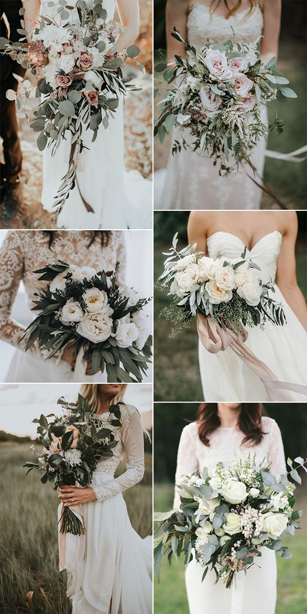 trending elegant wedding bouquets for 2019