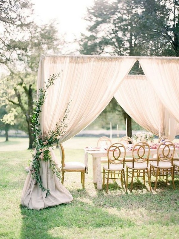 neutral wedding decoration ideas 2