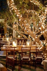 night wedding decoration ideas