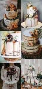 trending drip wedding cakes