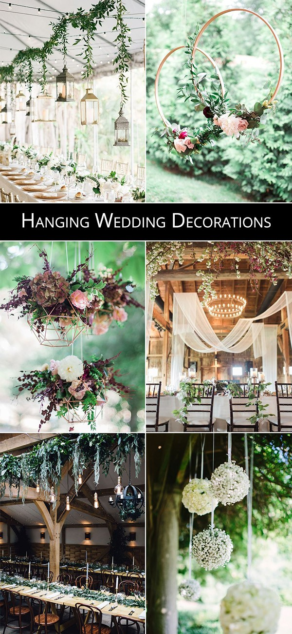 trending hanging wedding decoration ideas for 2019