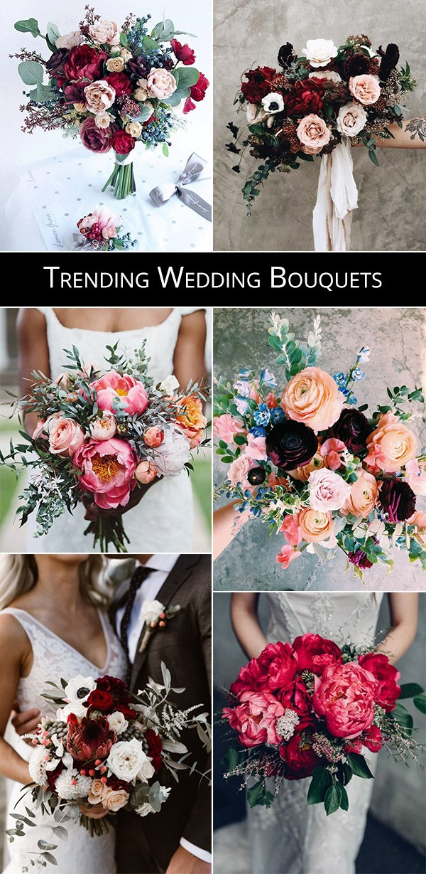 trending wedding bouquets for 2019