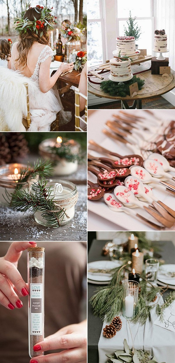 trending winter bridal shower ideas for 2018 and 2019