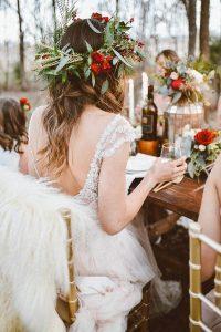 winter bridal shower ideas