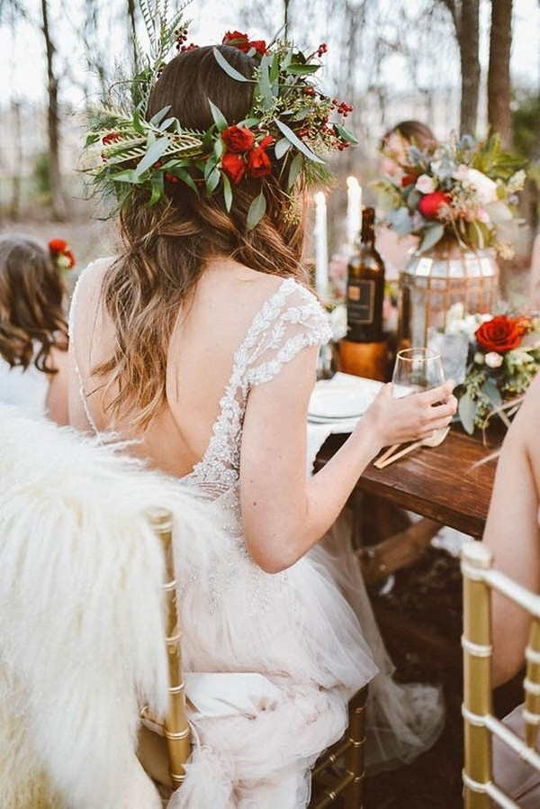 winter bridal shower ideas