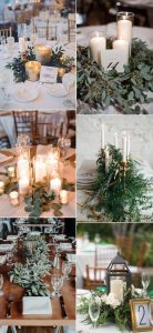 winter wedding centerpiece ideas for 2018 and 2019