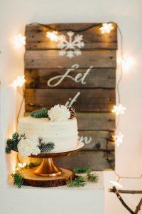 winter wonderland bridal shower ideas