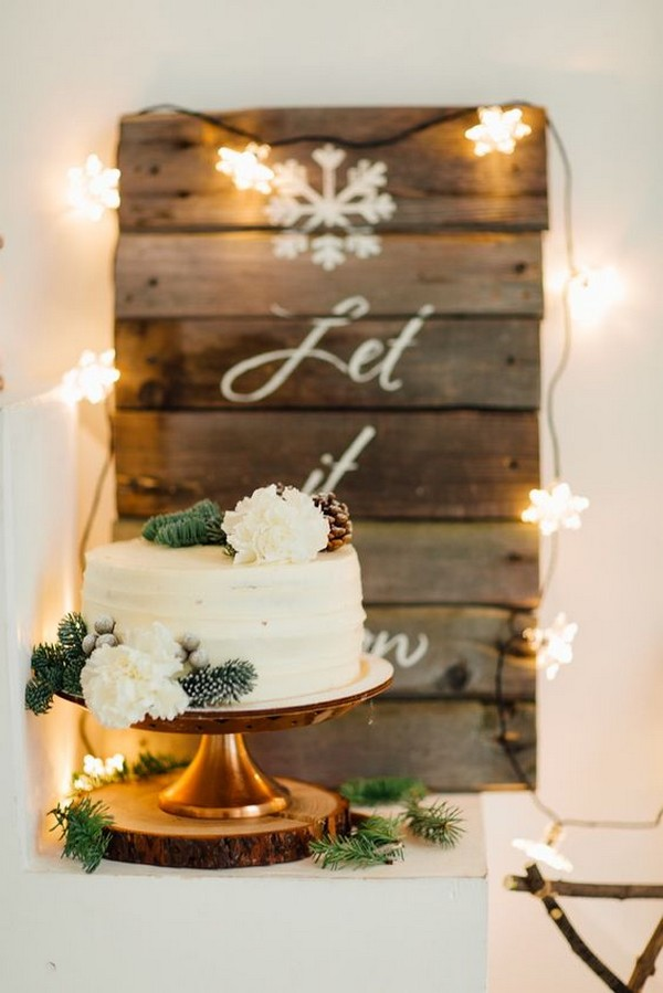 winter wonderland bridal shower ideas