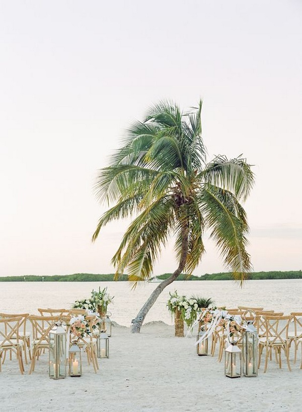 beach seaside wedding ceremony ideas