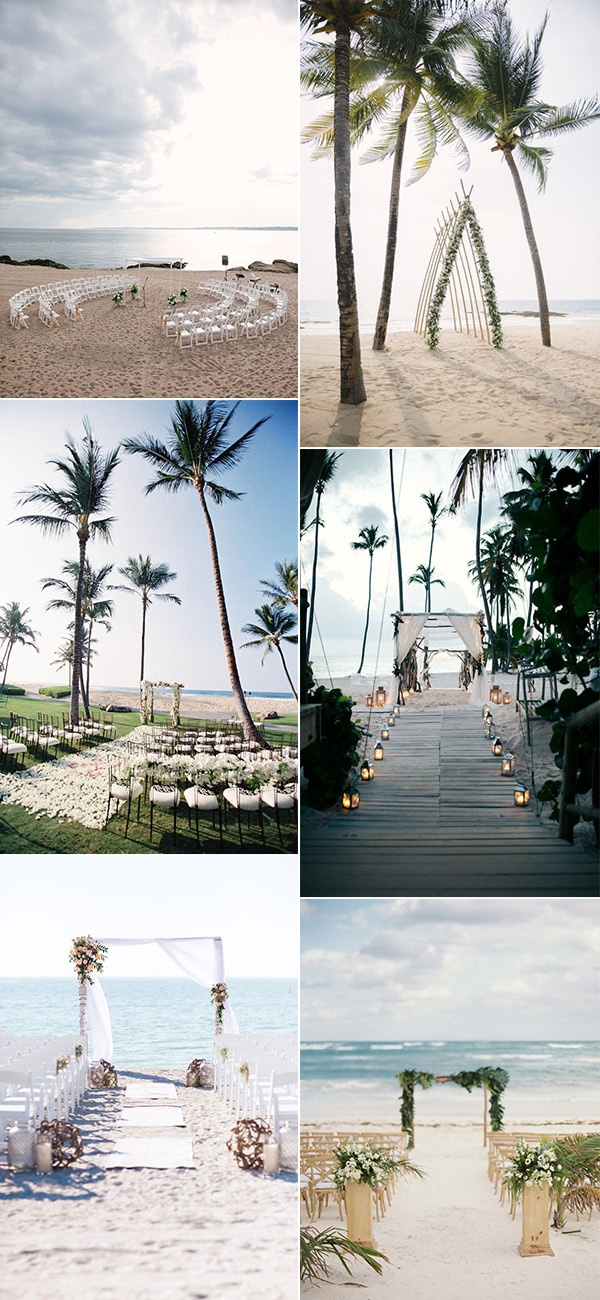 beach wedding ceremony decoration ideas for 2019