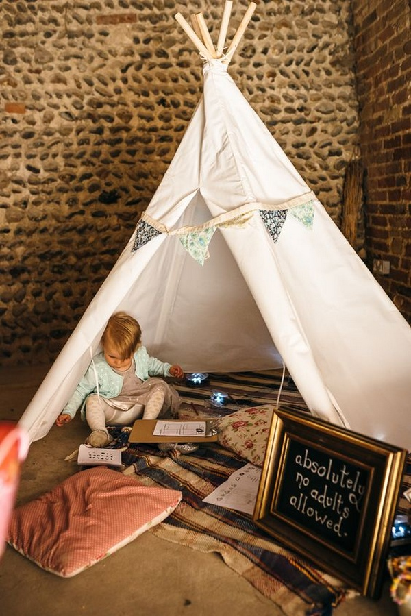 children area wedding ideas