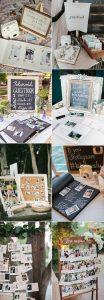 creative Polaroid wedding guest book ideas