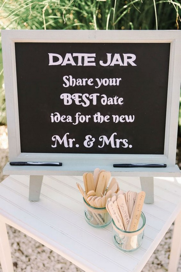 date jar wedding ideas