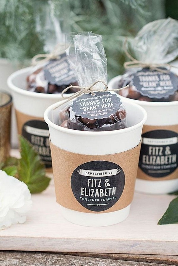 diy winter wedding favor ideas