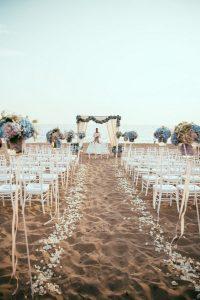 seaside beach wedding ceremony ideas