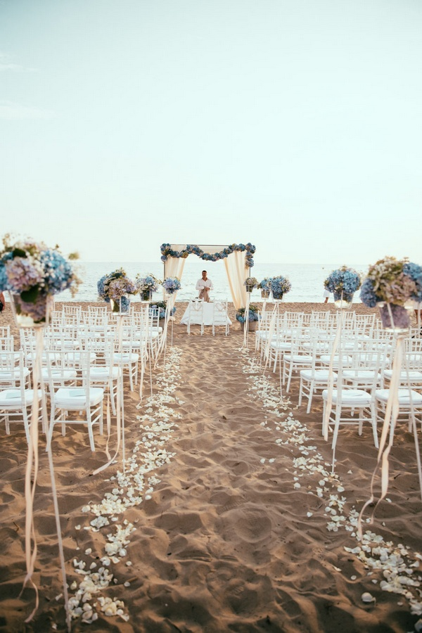 seaside beach wedding ceremony ideas