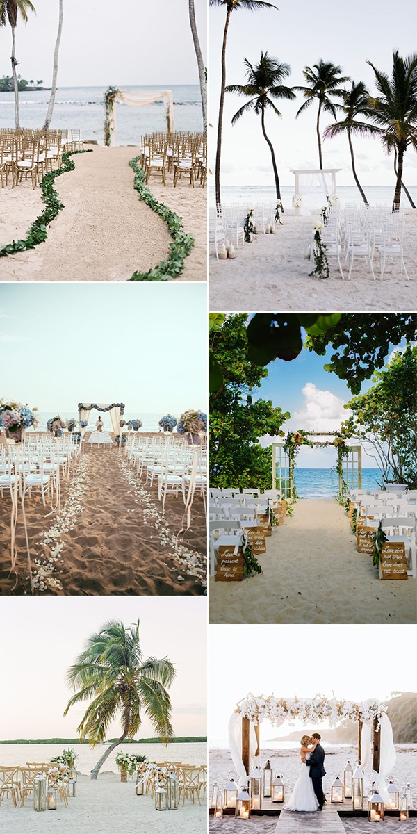 trending beach wedding ceremony ideas