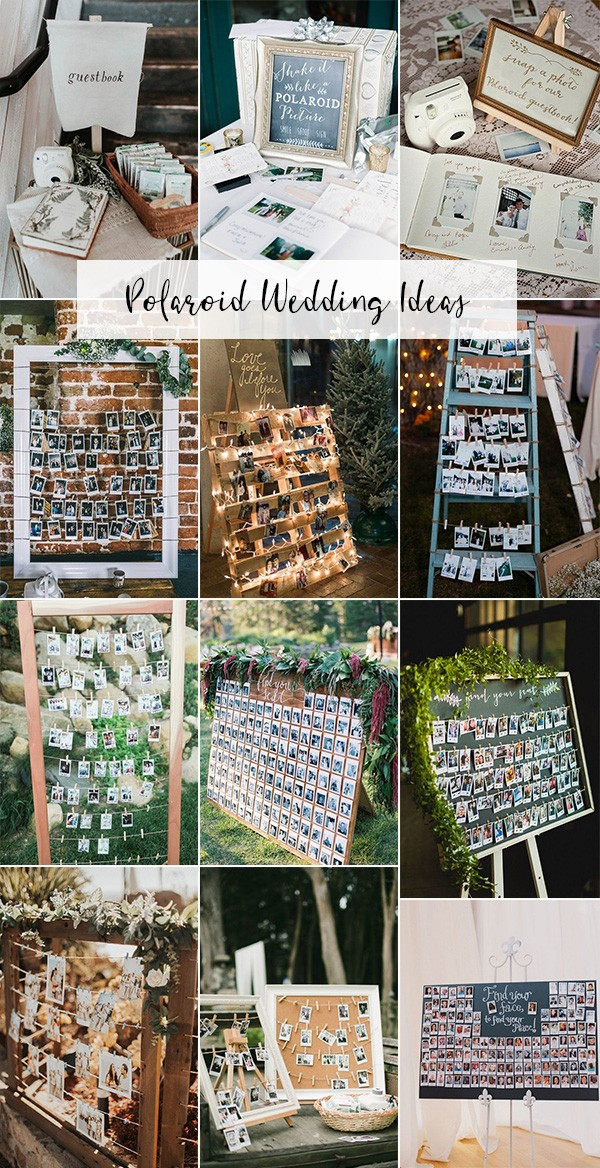 trending polaroid wedding ideas