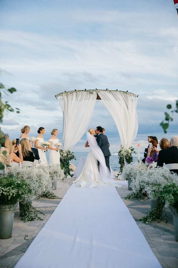 wedding ceremony ideas for beach weddings
