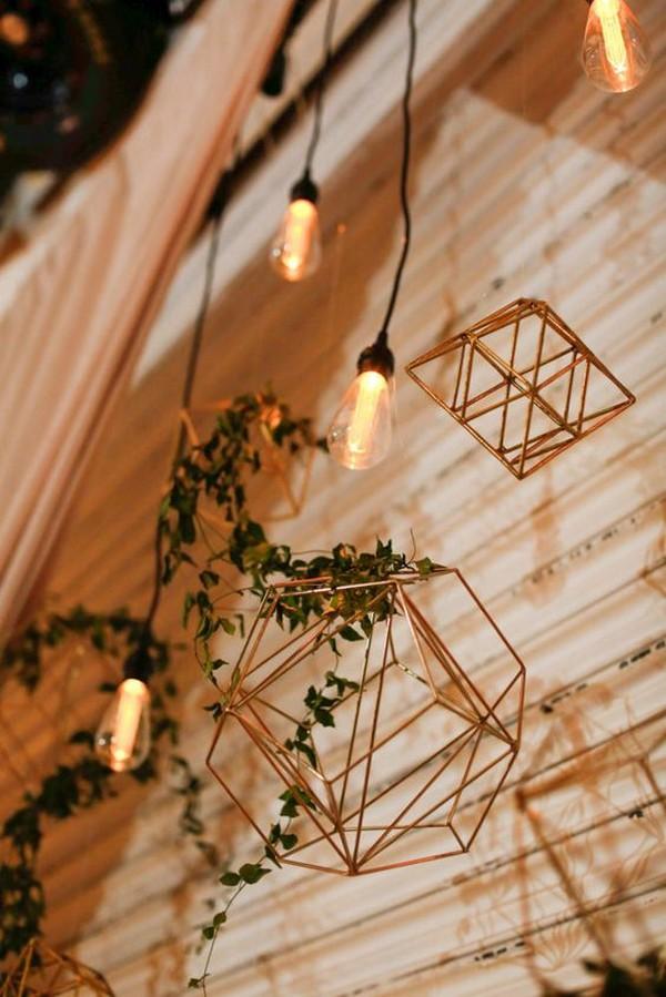 Edison bulb wedding decoration ideas