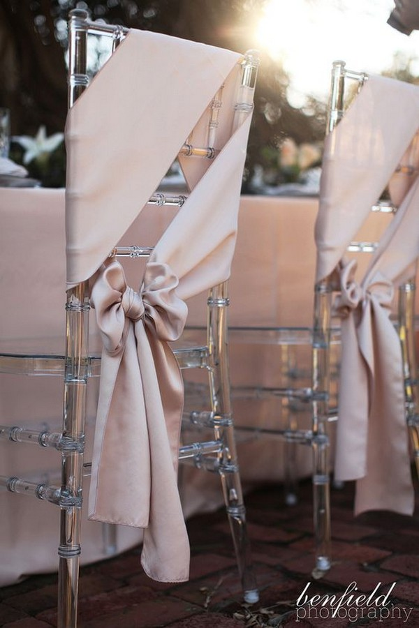 affordable wedding chair decorations with fabric
