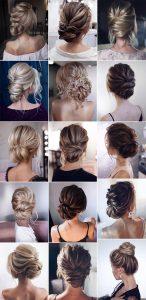 bridal updos wedding hairstyle ideas