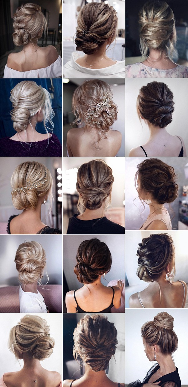 bridal updos wedding hairstyle ideas