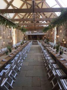 chic barn wedding reception ideas