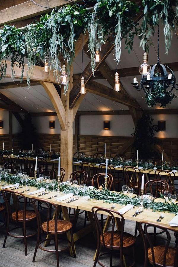 industrial wedding reception ideas