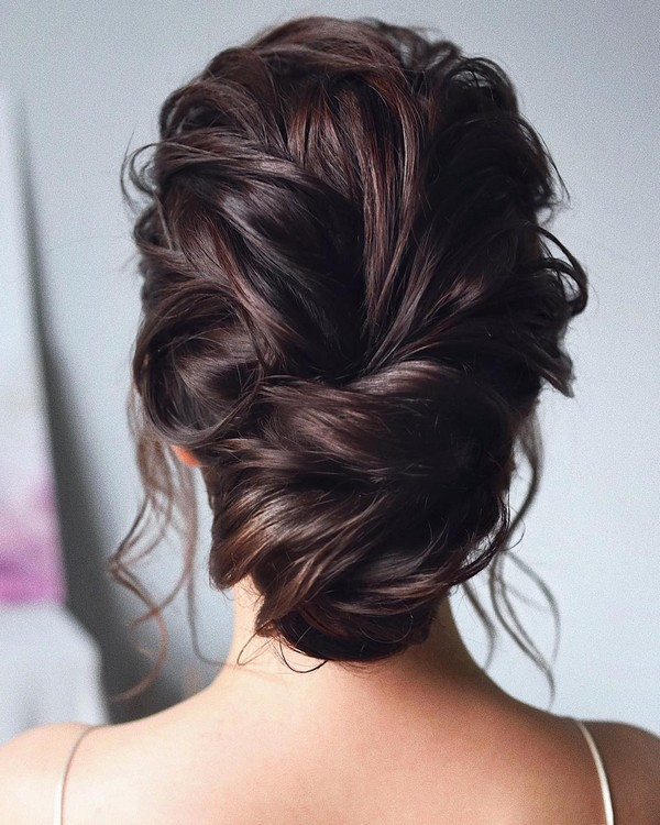 pretty updos wedding hairstyle ideas