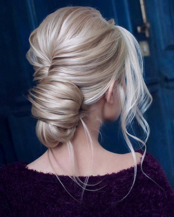 stunning updo wedding hairstyle ideas